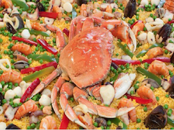 Seafood Paella of Dalilas Gourmet