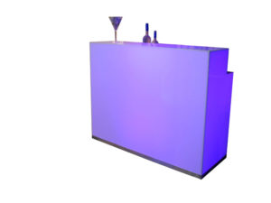 Acrylic Led Double Bar Top 5 ft