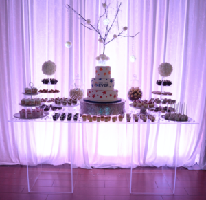 LED Dessert Table (72' x 30' x 32'