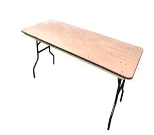Rectangular-wood-table-6ft.-Indoors