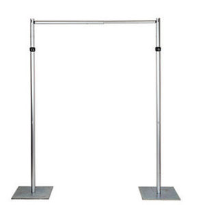 Structure Aluminum Pipe and Drape - (12 ft. Max. height - any length)
